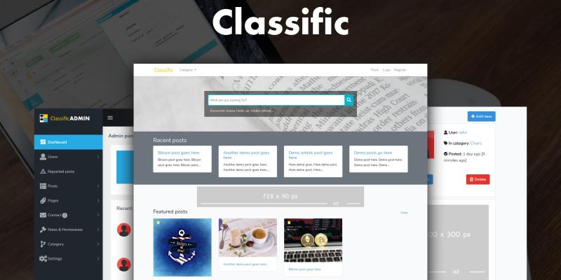 Classific - Classified Ad PHP Script