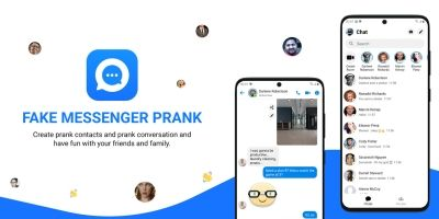 Fake Messenger Prank - Android App Source Code