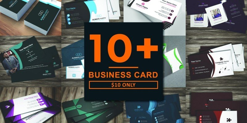 10 More Professional Business Card Design Bundle