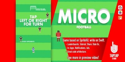 Micro Football - iOS Source Code