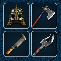 RPG Items - 100 Painted Icons
