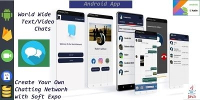 Softexpochats A Private Chatting Network App 2021