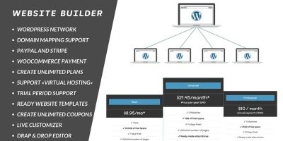 Majestic WebSite Builder WordPress Plugin