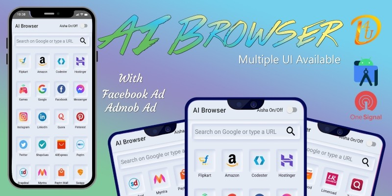 AI Browser - Browser With Voice Control Android