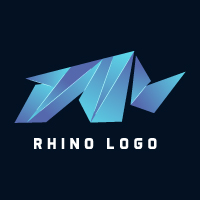 Rhino Modern Logo