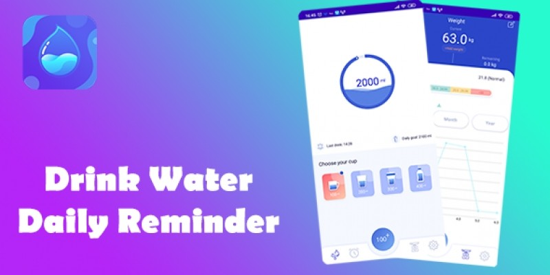 Drink Water - Daily Reminder Android Source Code