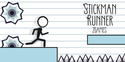 Stickman Runner Game - Buildbox Template