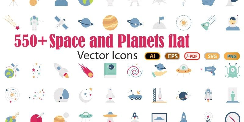 Space and Planets icon