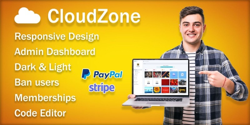 CloudZone - File Sharing And Storage System
