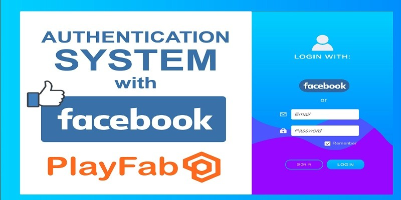 Unity Authentication with Facebook And Email Accou
