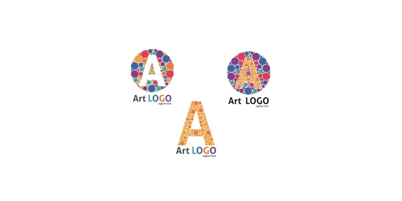 3 Styles Letter A
