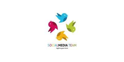 Social Media Team Logo