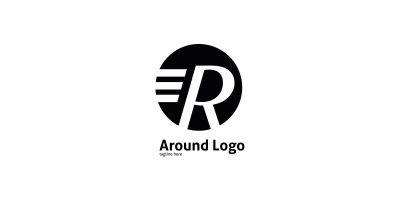 Letter R Around Logo