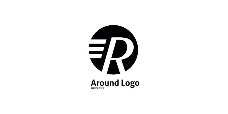 Letter R Around Logo