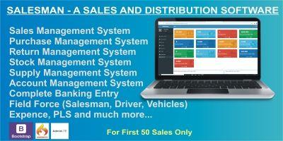 Salesman - Sales And Distribution Software