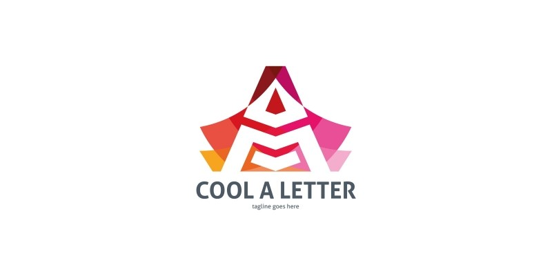 Cool A Letter Logo