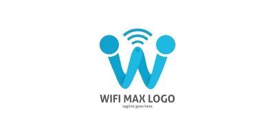 Wifi Max Letter W Logo