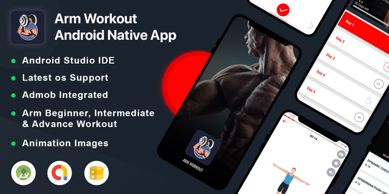 Arm Workout - Android App Source Code