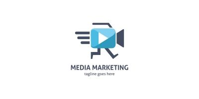 Media Marketing Logo