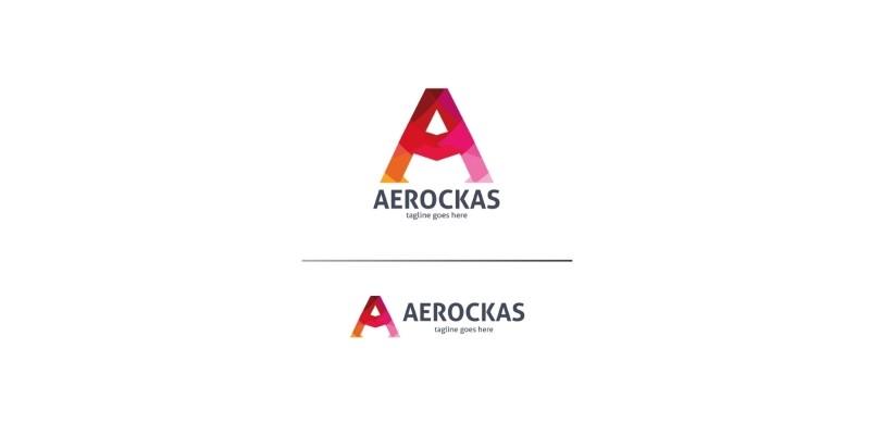 Aerockas Letter A Logo