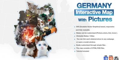 Germany Interactive Map With Pictures