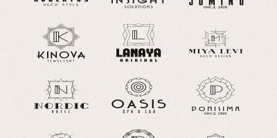 A-Z Luxury Logo Pack Template