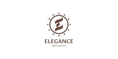 Elegance Letter E Logo