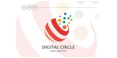 Digital Circle Pro Logo