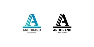 Andorand Letter A Logo