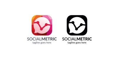 Social Metric Logo