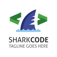Shark Code Logo
