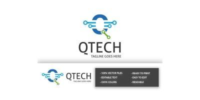 QTech Letter Q Logo