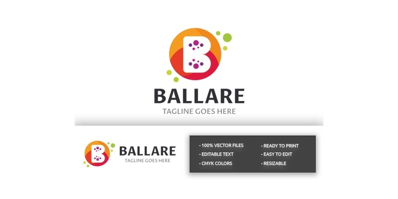 Ballare Letter B Logo
