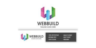 WebBuild Letter W Logo