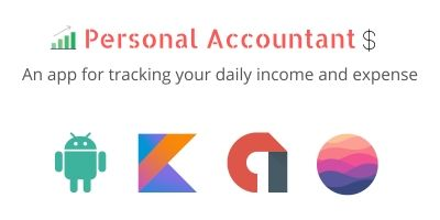Personal Accountant - Android App Source Code