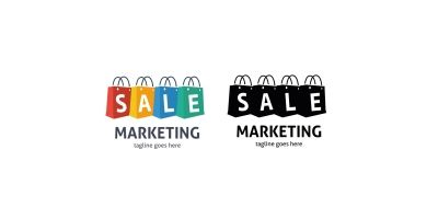 Marketing Bag Sale Logo