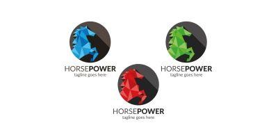 Horse Pro Power Logo