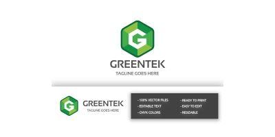 Greentek Letter G Log