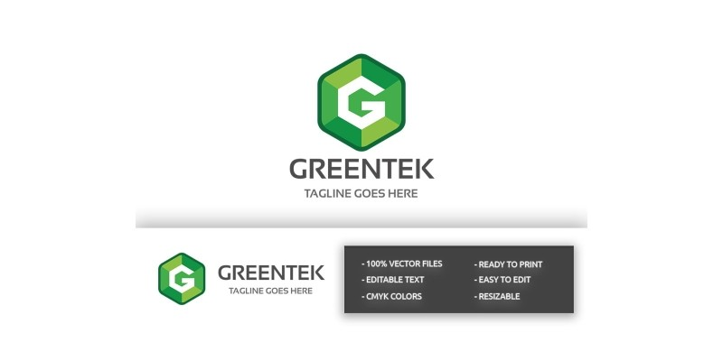 Greentek Letter G Log
