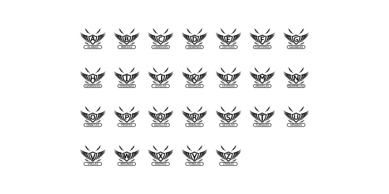 Big Bundle Letters Logos