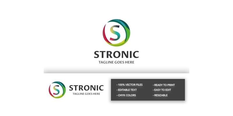 Stronic Letter S Logo