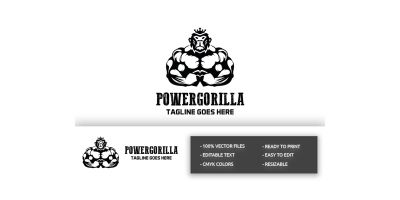 Power Gorilla Logo