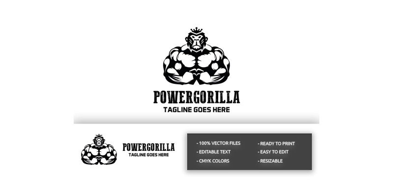 Power Gorilla Logo