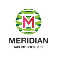Meridian Letter M Logo