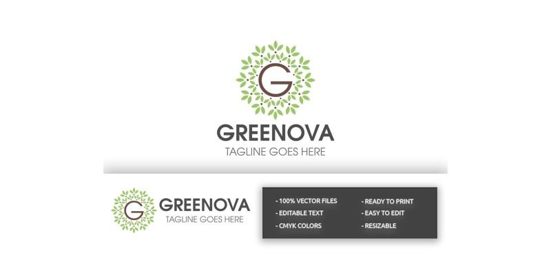 Greenova Letter G Logo