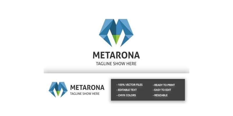 Metarona Letter M Logo