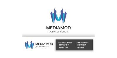 Mediamod Letter M Logo