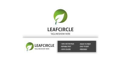 Leaf Circle Pro Logo