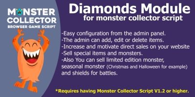 Module Diamonds For Monster Collector Script