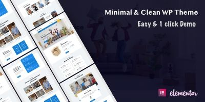 Moving Pro - Logistics Company WordPress Theme